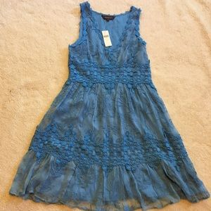 Anthropologie Ranna Gill Lace  Dress Small NWT